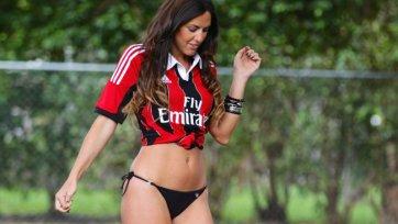 Итальянская фотомодель будет обслуживать матчи Серии А