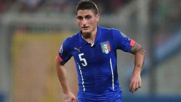 Марко Верратти сборной Италии более не помощник