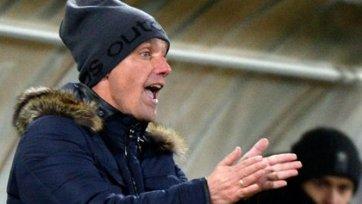 Виктор Гончаренко отсутствовал на тренировке «Кубани»