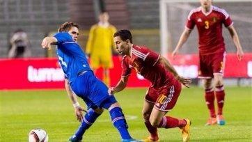 Бельгия обыграла Исландию в товарищеском матче