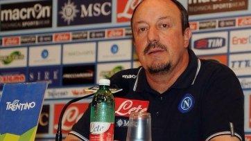 Руководство «Наполи» хочет продлить контракт с Бенитесом