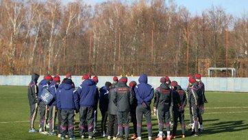 ЦСКА начал подготовку к матчу против «Краснодара»