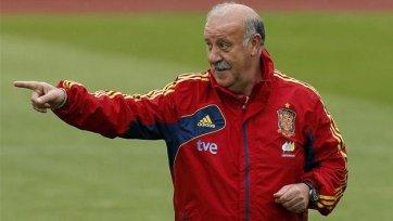 Дель Боске: «В раздевалке сборной Испании царит хорошая атмосфера»