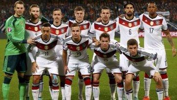 Германия легко одолела Гибралтар