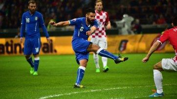 Боевая ничья в противостоянии Италии и Хорватии