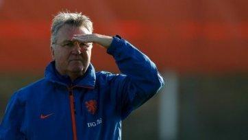 Хиддинк: «Накануне матча с Латвией было хорошее предчувствие»