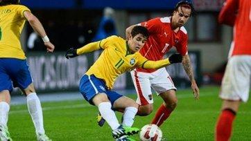 Бразилия минимально одолела Австрию