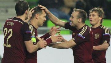 Россия торжествует в матче с венграми