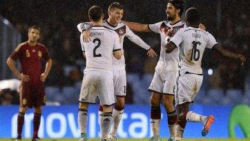 Кроос принес Германии победу над Испанией