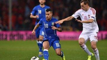 Италия обыграла Албанию