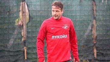 Эберт: «Хочу пробиться вместе со «Спартаком» в Лигу чемпионов»