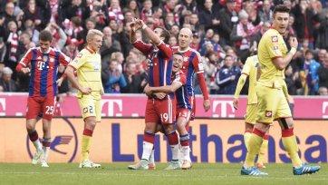 «Бавария» уверенно разобралась с «Хоффенхаймом»