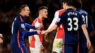 «Арсенал» проиграл «МЮ» и несет очередные кадровые потери