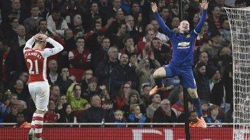 Руни: «В игре с «Арсеналом» наш план на игру сработал»