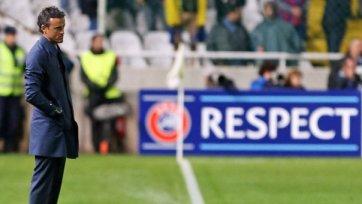 Луис Энрике: «Мы провели великолепный матч против хорошей команды»