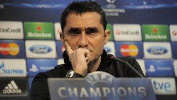 Вальверде: «Сыграли не очень хорошо, но задачу выполнили»