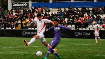 Сборная ФНЛ вырвала ничью в матче против сборной итальянской Серии В