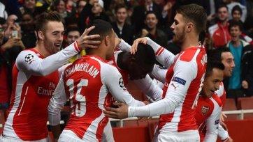 «Арсенал» вернул «должок» «Боруссии» и пробился в плей-офф ЛЧ
