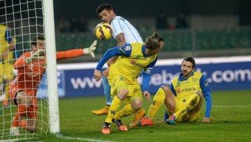«Лацио» потерял очки в игре с «Кьево»