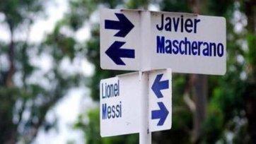 В аргентинском городе Эль-Чанар появились улицы имени Месси и Маскерано