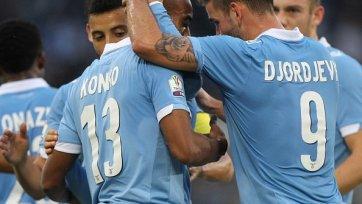 «Лацио» без проблем вышел в 1/8 финала Кубка Италии
