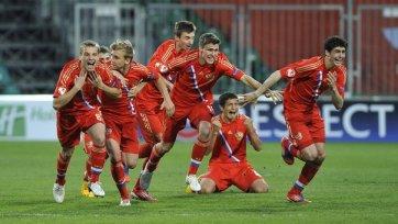 Юношеская сборная России одержала разгромную победу над Кипром