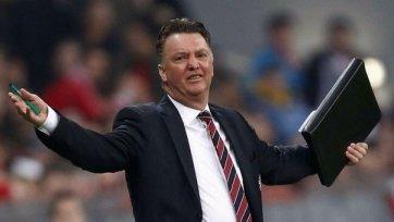 Луи ван Гаал раскритиковал своих подопечных за игру против «Сток Сити»