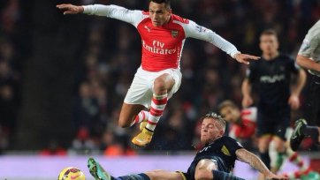 «Арсенал» минимально обыграл «Саутгемптон»