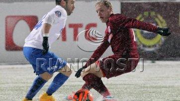 «Динамо» в непростых погодных условиях обыграло «Мордовию»