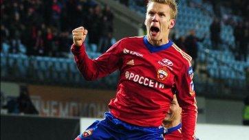 Вернблум принял участие в тренировке ЦСКА