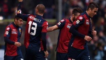 «Дженоа» обыграла «Милан» и продлила безпроигрышную серию до девяти матчей
