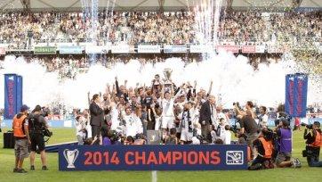 «Лос-Анджелес Гэлакси» выиграл Кубок МЛС