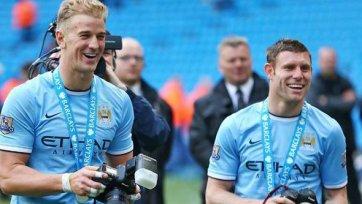 Пеллегрини: «Надеюсь, Харт и Милнер будут игроками «Сити» еще много лет»