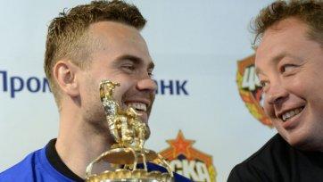 Слуцкий: «Акинфеев – настоящий патриот ЦСКА, он закончит здесь свою карьеру»