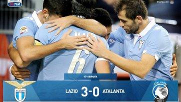 «Лацио» уверенно разобрался с «Аталантой»