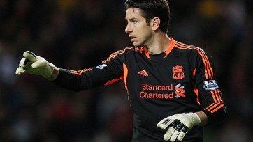 Брэд Джонс заменил Симона Миньоле в воротах «Ливерпуля»