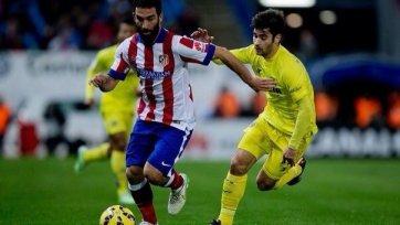 «Вильярреал» в упорной борьбе вырвал победу у «Атлетико»