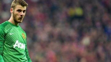 «Манчестер Юнайтед» не торопится продлевать Давида Де Хеа