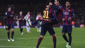 «Барселона» покуражилась в матче против «Уэски»