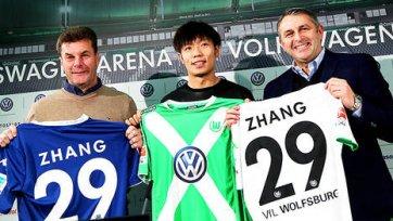 Лучший игрок чемпионата Китая подписал контракт с «Вольфсбургом»
