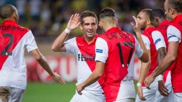 «Лион» в серии пенальти проиграл «Монако»
