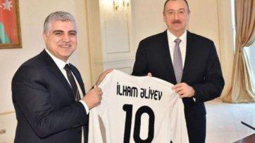 Президент Азербайджана прокомментировал выступление «Карабаха» в ЛЕ