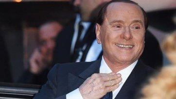 Берлускони приехал на базу «Милана» и подбодрил команду