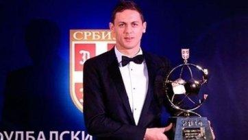 Матич был признан лучшим футболистом Сербии