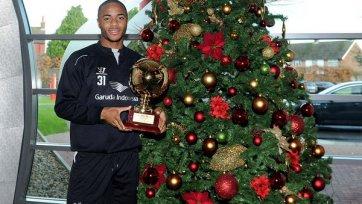 Рахим Стерлинг признан лучшим молодым игроком Европы