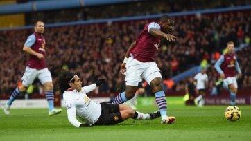 «Астон Вилла» прервала победную серию «Манчестер Юнайтед»