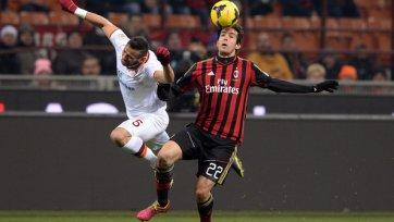 «Рома» с «Миланом» разошлись миром