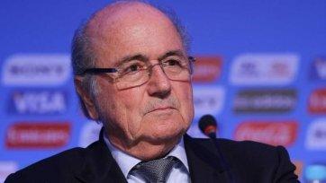 Йозеф Блаттер может отказаться от выдвижения своей кандидатуры на пятый срок главы ФИФА