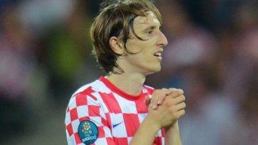 Лука Модрич – лучший футболист Хорватии
