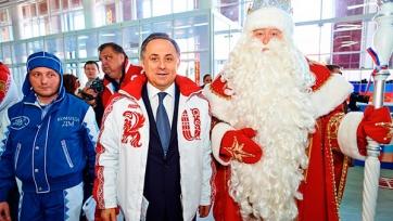 Министр спорта признался, что был Дедом Морозом